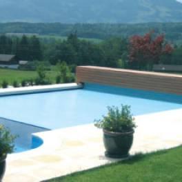 Жалюзийные покрытия для бассейнов